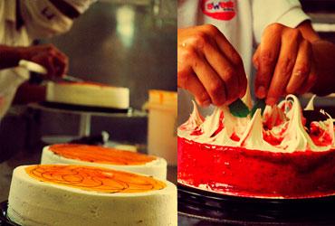 Nuestra fábrica artesanal de pasteles