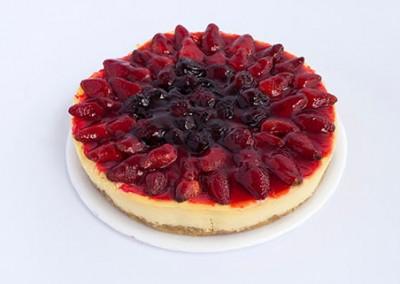 Cheesecake de Frutos Rojos Horneado