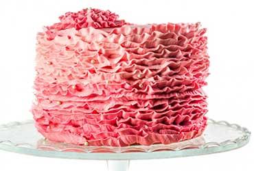 Más tendencias de pasteles de bodas para el 2016