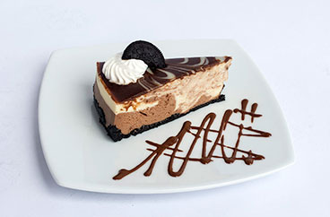 El Cheesecake de Oreo Veteado de Sweets