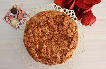 La torta Apple Crisp de Sweets