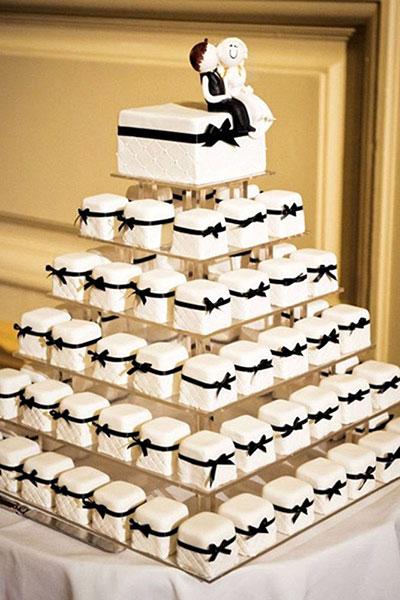 Mini tortas de boda o matromonio en quito