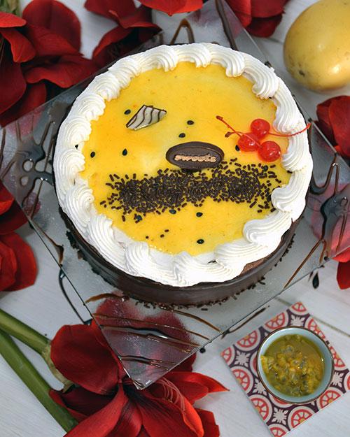 pastel tentacion maracuya sweets quito vista desde arriba