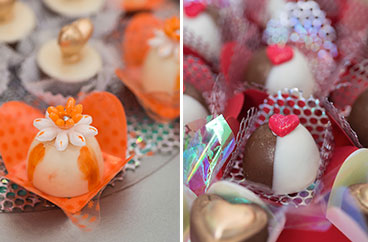 Los exquisitos dulces de boda de Sweets