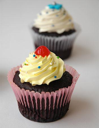Muffin Chocolate Crema de Chocolate Pastelería Sweets de Quito