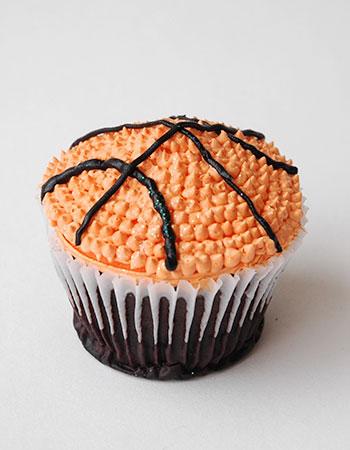 Muffin Pelota Basket Pastelería Sweets de Quito