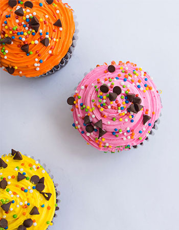 Muffin de Sweets vistos desde arriba en Quito
