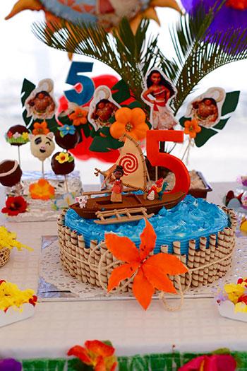 Pastel Moana Pastelería Sweets de Quito