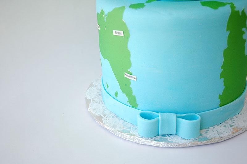 torta para baby shower detalle