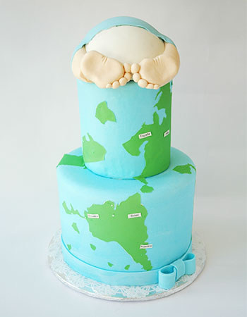 torta baby shower promocion quito