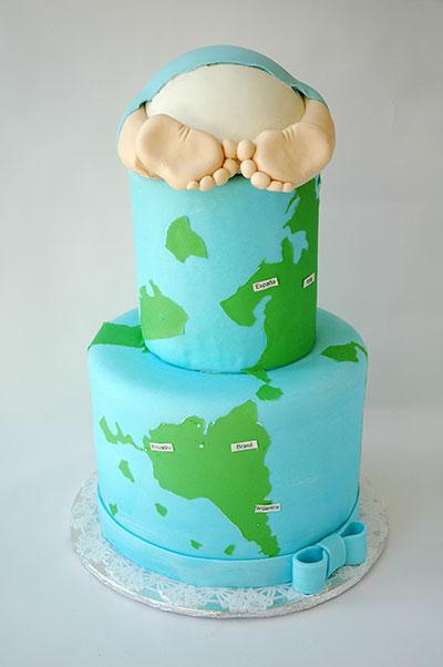 torta para baby shower en Quito