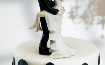 Pasteles de bodas originales y atípicos