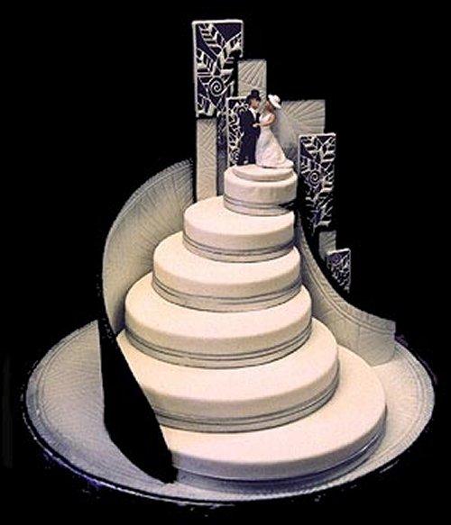 pastel bodas insólito Escaleras Quito