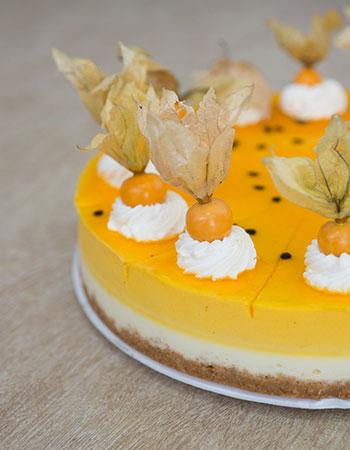 Promoción martes descuento Cheesecake de Maracuya Pastelería Sweets en Quito