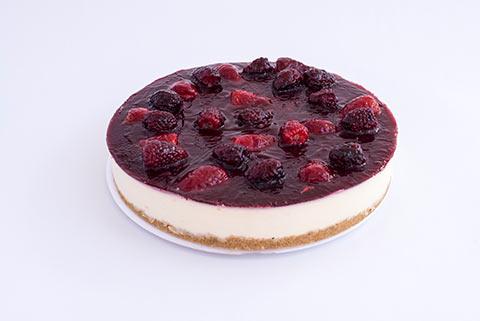 El Cheesecake de Frutos Rojos Frío de Sweets