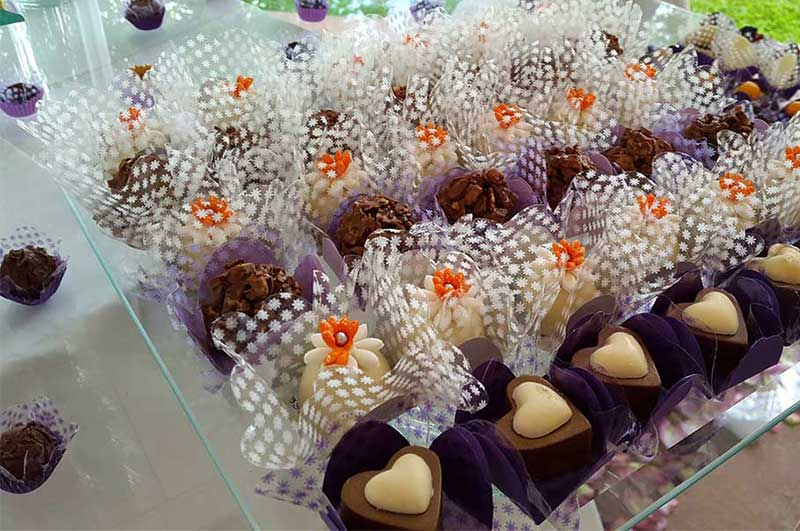 Los bombones para boda de Sweets