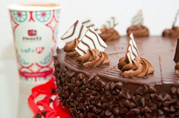 El Pastel Bombón de Chocolate