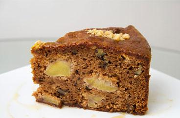 La Torta de Manzana y Nuez de Sweets