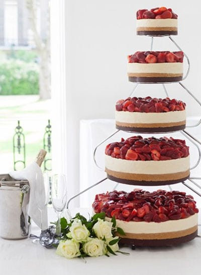 Alternativas para tu pastel de bodas