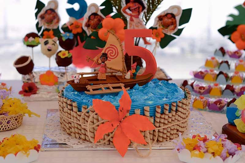 Tortas y dulces para cumpleaños infantil